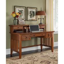 Executive Desk With Hutch Arts Crafts Cottage Oak Executive Desk And Hutch Homestyles
