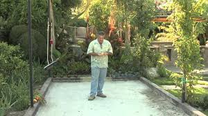 bocce ball court design u0026 game rules youtube