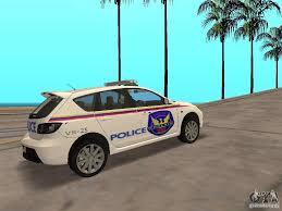 mazda 3 sa mazda 3 police for gta san andreas