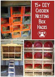 How To Make A Cheap Bookcase 15 Chicken Nesting Box Hacks Mom With A Prep