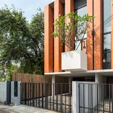 Courtyards by Gallery Of Townhouses With Private Courtyards Baan Puripuri 6