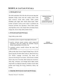 daftar pustaka merupakan format dari 04 fnu daftar pustaka doc