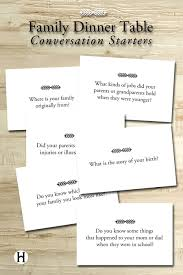 what is the story of thanksgiving questions for the family dinner table for church pinterest