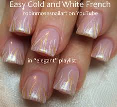 christmas french tip nail art best nail 2017 gel nails christmas