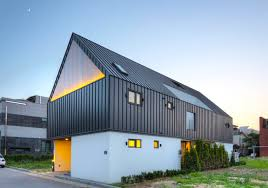 Modern House Roof Design Pitched Roof Inhabitat Green Design Innovation Architecture
