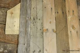 How To Make Hardwood Flooring From Pallets Remodelaholic Rustic Diy Pallet Wood Hearts Free Templates