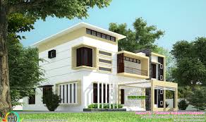 Housedesigners Com 2828 Sq Ft Modern Exterior Home Kerala Home Design And Floor Plans