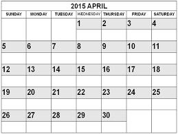 best collection of 2015 april calendar april 2015 calendar with