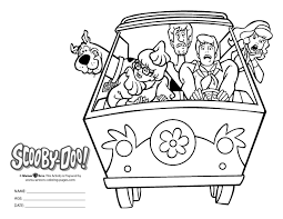 Scooby Doo Easter Egg Dye Kit Scooby Doo Coloring Page Bw Gif 660 510 Coloring Pages