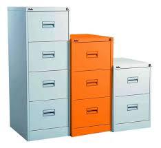 Orange Filing Cabinet Midi Filing Cabinet 3 Drawer Orange