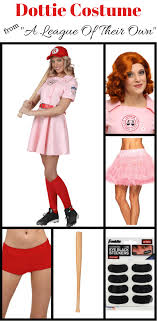 a league of their own costume dottie costume from a league of their own