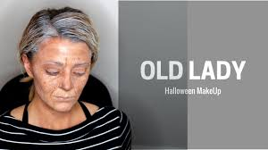 Halloween Old Lady Makeup by