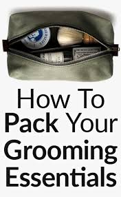 How To Travel Light Men U0027s Grooming Essentials To Carry When Traveling How To Travel