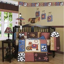 geenny boutique horse cowboy 13 piece crib bedding set walmart com