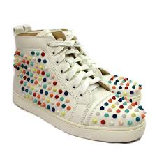 louboutin sneakers spike u2013 tropissime