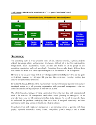 hr management report template basic human resource management report on consulting firms