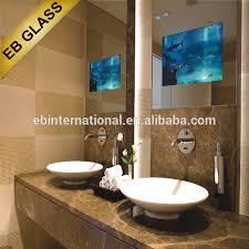 bathroom tv ideas bathroom tv mirror glass my web value