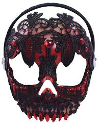 halloween skeleton mask halloween day of the dead masks partynutters uk