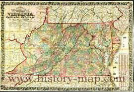 Eastern Tennessee Map by In The 1860 U0027s