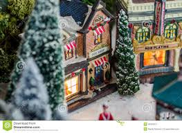 miniature figurines christmas time business u0027s stock photo image