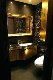 Black And Gold Bathroom Rugs Gold Bathroom Black Gold Brown Bathroom Modern Powder Room Gold