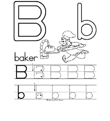 letter b worksheets preschool worksheets