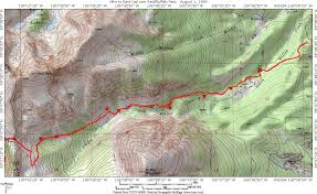 Vail Map Red Buffalo Pass Ruby Ranch To East Vail