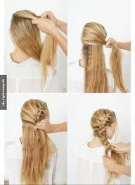 Frisuren Selber Machen Bauernzopf by Seitlicher Bauernzopf Haare Bauernzopf Frisur Und