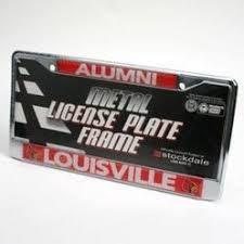 lsu alumni license plate ucla bruins alumni chrome license plate frame