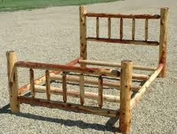 bedroom king size log bed frame amazing king size bed frame