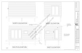 22 x 14 art studio plans blueprints construction documents sds plans