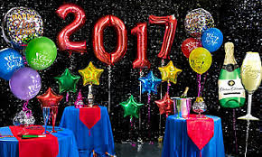 Decoration With Balloons For New Year by New Years Eve Decorations Party City