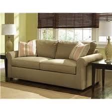 Chair And A Half Sleeper Sofa Sunburst Dreamquest Queen Sleeper Sofa With Rolled Arms Rotmans