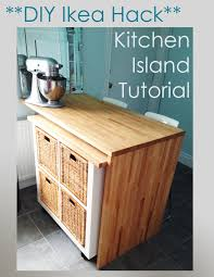 diy ikea kitchen island ikea hack diy kitchen island tutorial by sketchystyles