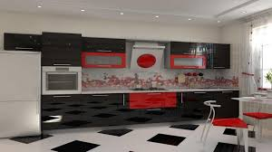 Red And Black Kitchen Tiles - simrim com kitchen design red tiles