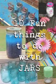 doodlecraft 10 fun ideas with a mason jar