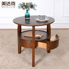 small sofa side table small round table wooden coffee table minimalist living room sofa