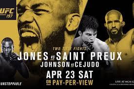 tad jones ufc 197 jones vs saint preux ppv live results discussion