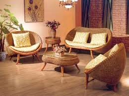 Ideas For Furniture In Living Room Cool Wicker Living Room Furniture Indoor Henry Link