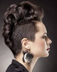new age mohawk hairstyle 12 best mohawk shape images on pinterest hairdos hair cut and