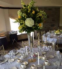 tall wedding centerpieces the clubhouse at patriot hills