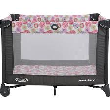 Pink And Brown Graco Pack N Play With Changing Table Graco Pack N Play Safe Play Yard For