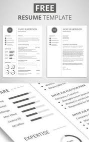 photo resume format creative cv template in ms word including matching cover letter