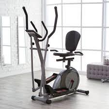 Recumbent Bike Desk Diy by Elliptical Machine Exercise Recumbent Bike 3 In 1 Trainer Home
