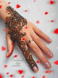 50 simple and easy mehndi designs 2018 2019
