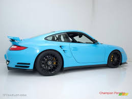 Light Blue Color by 2010 Light Blue Paint To Sample Porsche 911 Turbo Coupe 28659195