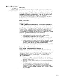 nursing resume objective nursing student resume objective statement cover letter