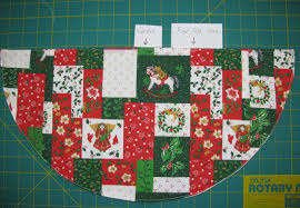 louisa quilts instructions for christmas tree table napkin