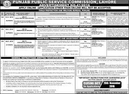 Jobs Economics Degree by Ppsc Jobs Punjab Public Service Commission Jobs Sub Inspectors