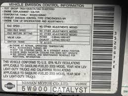 nissan murano catalytic converter recall 2003 catalytic converter replacement p0420 c a r b nissan